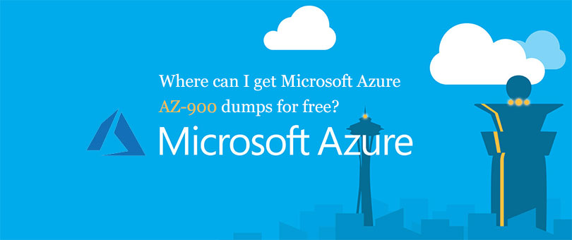 Share Microsoft Azure AZ-900 dumps and online practice tests for free