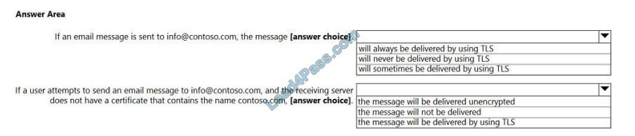 [2021.1] lead4pass ms-203 exam questions q9-1